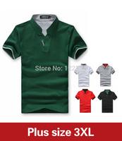 Free shipping in 2014 the new Fashion summer leisure men's T-shirt with short sleeves slim men M/L/XL/XXL/XXXL/