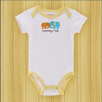 Free Shipping USA Mother Nest Baby Sayings Bodysuit,Wild Girl&Boy Short Summer Baby Bodysuit for Newborn 0-3,3-6,6-9,9-12 months