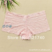 high quality 2013 new women Boxer brief Victoria Sexy Lace Sexy  Seamless underwear UDJ42409