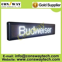 DHL FREE shipping, outdoor led electronic board, panel white color and size 9.4*40.9 inches