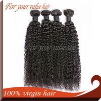 "Ali Queen Hair,High Quality Brazilian Weave Virgin Queen Hair,Kinky Curly,4pcs/lot,12''-30"",Natural Color, Genesis Hair"