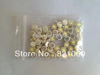 50PCS/LOT High power Epistar chip 1W 80-90LM 3.0-3.2V White led lamp 6000-6500K