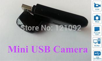 Mini HD U8 USB Disk Spy Hidden Camera DV DVR With Motion Detector