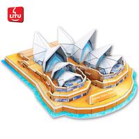 LITU 3D PUZZLE_world's famous building_Sydney Opera House