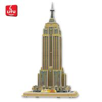 LITU 3D PUZZLE_world's famous architecture_Empire State Building