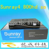 Rev D6 Sunray4 800HD SE SR4 with Triple tuner Enigma2 DVB-S(S2)/C/T+ 300M WIFI Fastest DHL /Fedex Shipping