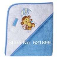 USA Luvable Friends Towel,High Quality Umbrella Animal Hooded Towel Woven Terry Baby Bath & Shower Baby Towel