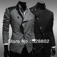 2013 The High quality jacket Men's men's leisure jacket coat British business blazers coat men leather jacket