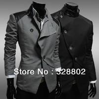 2014 The High quality jacket Men's men's leisure jacket coat British business blazers coat men leather jacket