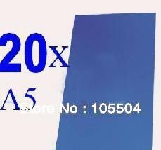 "Free shipping!20x Negative Dry Film Photoresist Sheets 6x8"" (A5) for DIY PCB Prototype =22pcs"