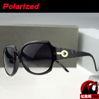 The latest fashion in Europe and America Sunglasses women brand designer 2014 glasses big frame Free Shipping 5041YJ