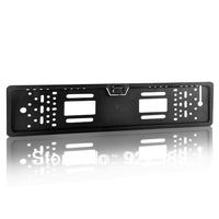 European license plate frame HD camera,rear view camera,car reversing backup kit,car camera on MONITOR DVD VCR/+ happy feedback