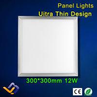 Led panel lights led integrated ceiling led panel light 300x300mm products 12W ultra-thin LED Flat lights/ luminarias para sala