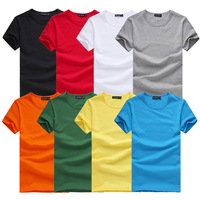 SOCHI New Spring 2014 mens t shirt Slim fit fashion 2013 t-shirt casual V neck Cotton short sleeve Tees Tops XXXL Free shipping