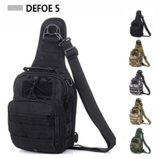 Molle Tactical Outdoor Camouflage Chest Pack Sport Single Shoulder Man Crossbody Army Surplus Gear Equipment Hot Bag Wholesale *(China (Mainland))