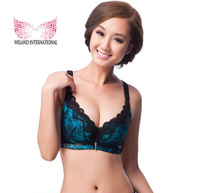 Wholesale Tops Brand Intimates Cotton Bras  Push Up Vs The Reduction Large Size Bras Women's Sexy Black Massage Lingerie B378