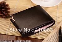 Free Shipping +Business casual the Cow split tablets wallet / men's short  paragraph wallet/ men's wallet/  L050
