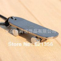 Fashion Style,Scripture Skateboards Cross Pendant Jewelry,High Quality Alloy Necklace,Wholesale,Free shipping,12pcs/lot,QNN1009