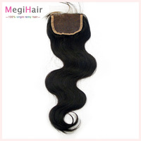 "DHL FREE SHIPPING,Top Closure Hair,full lace Top Closure Swiss lace 4""*4"" Vigin Peruvian Hair Body Wave Shedding and Tangle Free"