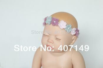 Handmade Baby Girl Headwear Hairband Hair Decoration Baby Girl Headdress Baby  Photography Props
