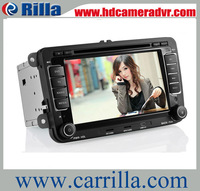 2013 Hot selling 7'' 2 din touch screen car dvd player for VW jetta/Golf  with GPS Radio stereo FM USB/SD Bluetooth/TV