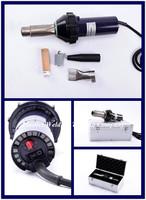 Free DHL fast shipment 1600W CE certificate Handheld Hot Air plastic welder Gun  welding Heat Gun rod Gas by Aluminum box pack