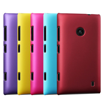 Free Shipping, High Quality Rubber Matte Hard Back Case for Nokia Lumia 520 525 Colorful Frosted Protective Cover, NOK-005