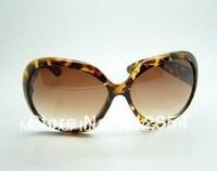4098 sunglasses brand fashion Men women's big black frame black lens sunglass box women