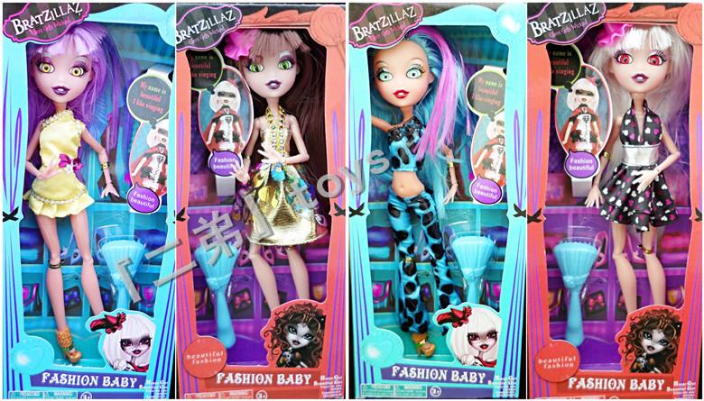 Лучший! мода стиль монстр высокой кукла