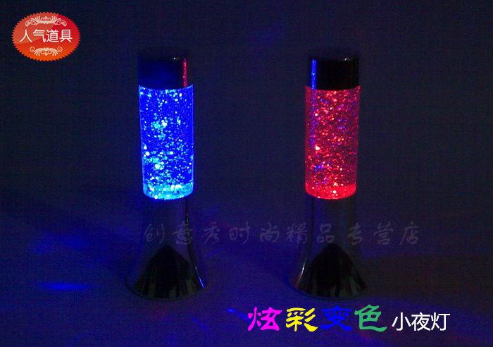 Color magic lampe led petite lumi re de nuit d coration for Lampe a lave acheter