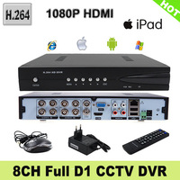 8CH H.264 Full D1 real-time recording 1080P HDMI Standalone network CCTV DVR support IE Viewing.(TS-CD6208EL)