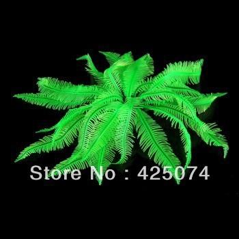 3PCS/LotGreen Artificial Fake Coral for Fish Tank Decoration Ornament