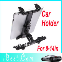 For Tablet PC / GPS Multi-Direction Car Mount Headrest Holder Bracket Clip Universal  Free / Drop Shipping Wholesale