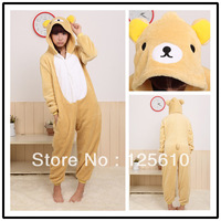 Plus size Christmas Pajamas sleepwear set hatley nightwear  baby girl Sleep wear Plush Pyjamas unisex pyjamas by0013 Rilakkuma