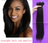 Queen love hair products brazillian straight 3pcs lot bulk hair unprocessed virgin hair weave Super mocha hair wavy FreeShipping