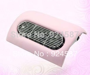 WHOLESALES Factory Price Brand New 3 fans Arc Shape Nail Art Dust Suction Collector/CE Ceitificate /three color available