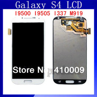 6pcs/lot 100% Test LCD For Samsung Galaxy S4 i9500 i9505 i337 M919 LCD display Digitizer Touch Screen assembly White Blue