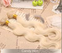 top quality peruvian virgin hair body wave 3pcs lot blonde virgin hair extension 613 human hair weave wavy dyeable new star hair