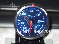 2013 New 2.5 INCH 60MM Defi Advance BF Turbo Boost Gauge / Car Turbo Boost Meter, Defi Gauge (Color Option: Red Or Blue Light)