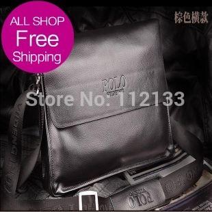 2013 Crazy Free Designer Brand Briefcases Vintage Men Bags Fashion Genuine Leather Bags Shoulder Messenger Bags Cross Body Bag