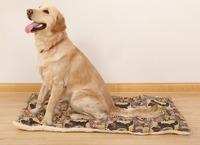New Catoon Pattern Warm Soft Fleece Dog/Cat Blanket Pet Cushion Mix Size Large