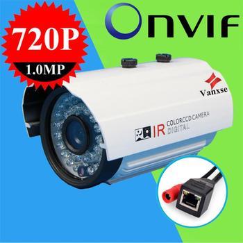Vanxse CCTV 36IR IR-CUT D/N 3.6mm IP Camera 1280X720P HD 1.0MP H.264 P2POnvif outdoor Security IP Camera