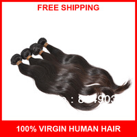 Hot selling wavy, queen hair products brazilian body wave hair, 100% unprocessed virgin hair, 3pcs lot, 5A remy human hair weft
