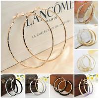 Earrings for Women   Big Gold Hoop Earring