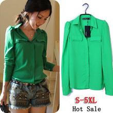 popular green cotton shirt
