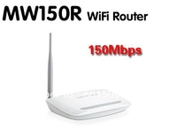 Freeshipping MERCURY MW150R 150Mbps 11N 802.11b/g/n Wireless 4-Port WIFI Lan Broadband Router White