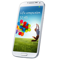 With LOGO Free Shipping Galaxy S4 I9500 MTK6589 Quod core Phones 8MP Camera 2G RAM 16G ROM 5.0'' Inch Android4.2 GPS 7 big gifts