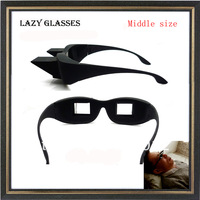 In stock Creative High Definition Horizontal Glasses Lazy Glasses,Novelty Bed Lie Down Periscope Glasses