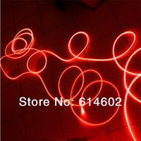 Free shipping 100M length high-quality 2.0mm side glow optic fiber