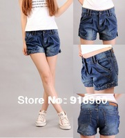 New Sale Women's Shorts denim Jeans/Summer Sexy Ladies' harem Denim Shorts/Casual Low Waist Slim Trousers/free shipping